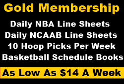 gold membership hoop picks