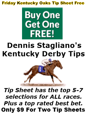kentucky derby tip sheets